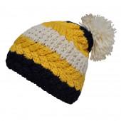 Bonnet tricolore jaune