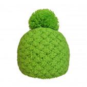 Bonnet tricot uni anis