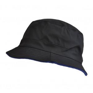 Bob de pluie noir / bleu