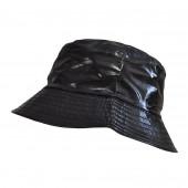 Chapeau imperméable noir