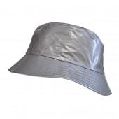 Chapeau imperméable gris
