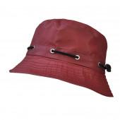 Chapeau de pluie bordeaux