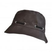 Chapeau de pluie marron
