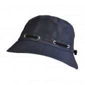 Chapeau de pluie bleu (Polaire)