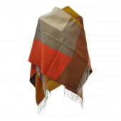 Poncho Arty Orange