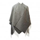 Poncho Sahara gris