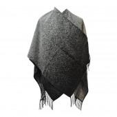 Poncho Sahara noir