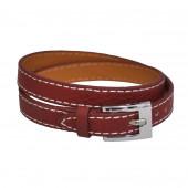 Bracelet en cuir Terracotta