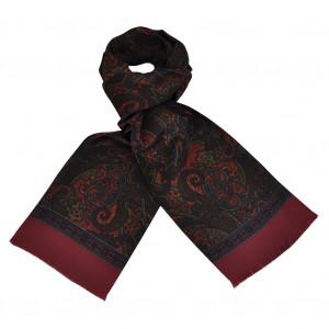 Foulard Carven Rouge Cachemire XL
