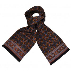 Foulard Carven Dandy Noir Cachemire