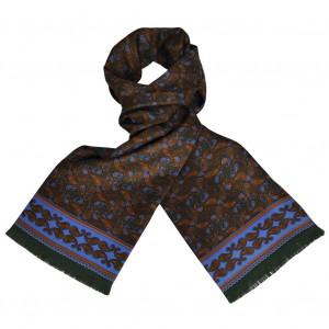 Foulard Carven Dandy Vert Cachemire