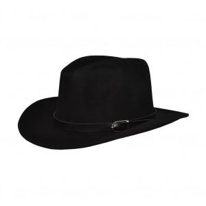 Chapeau Panama Noir 100% Laine