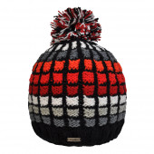 Bonnet Precious Black Red