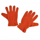 Gants en polaire, Orange