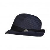 Chapeau de paille, Bleu