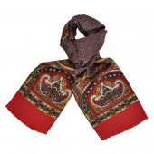 Foulard Carven Lys Rouge