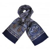Foulard Carven Lys Bleu
