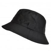 Bob de pluie Noir, Aspect nylon TU 57/59 cm
