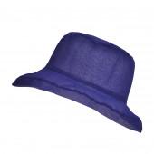 Chapeau Organza, Bleu