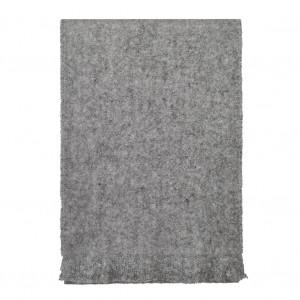 Echarpe grise en Mohair