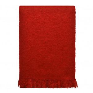 Echarpe rouge en Mohair
