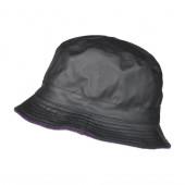 Bob de pluie polaire noir / violet