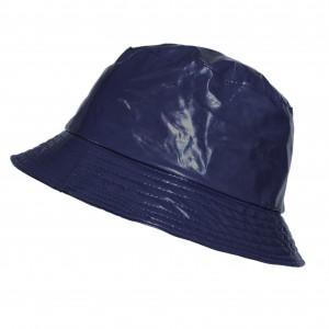 Bob de pluie Bleu, Aspect ciré