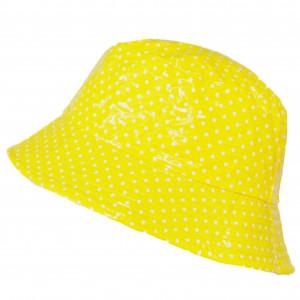 Bob vinyle jaune à pois