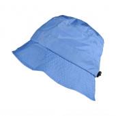 Bob imperméable bleu clair réglable et repliable dans sa poche intégrée
