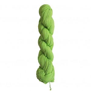 Chèche vert fluo torsadé