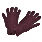 Gants en laine, Purple
