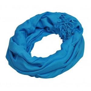 Pashmina bleu lagon