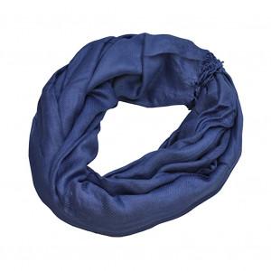 Pashmina bleu jean