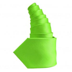 Cravate vert anis