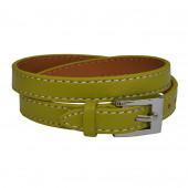 Bracelet en cuir Vert Citrus