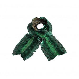 Echarpe LAMIA vert émeraude