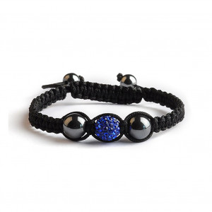 Shamballa 1 Perle - Bleu Saphir