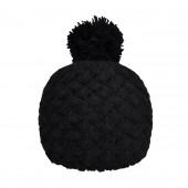 Bonnet tricot uni noir