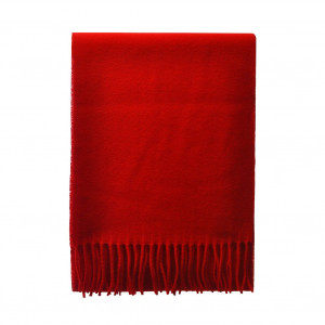Echarpe rouge Lambswool