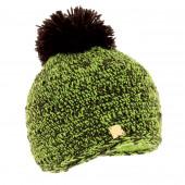 Bonnet chiné Vert