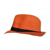 Chapeau Trilby, Orange