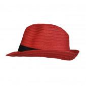 Chapeau Trilby, Rouge