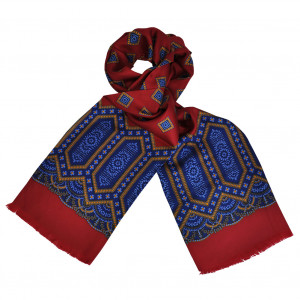 Foulard Carven Square Rouge