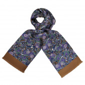 Foulard Carven Seventies Purple