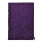Echarpe violette en Mohair