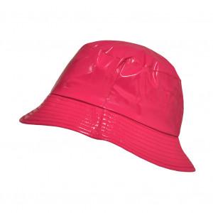 Bob de pluie Pink Framboise, Aspect ciré