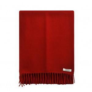 Écharpe cachemire, rouge