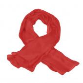 Foulard carré en soie, Rouge