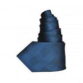 Cravate à carreaux Océan
