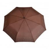 Parapluie strass, marron
